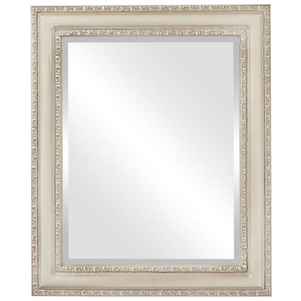 Beveled Mirror - Dorset Rectangle Frame - Taupe