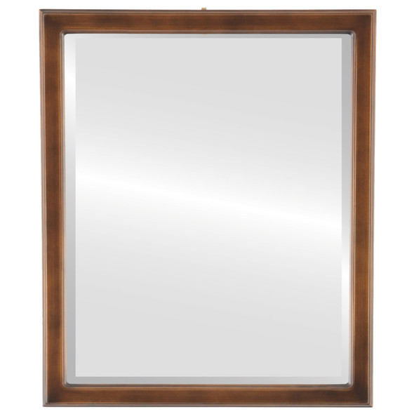 Beveled Mirror - Toronto Rectangle Frame - Sunset Gold