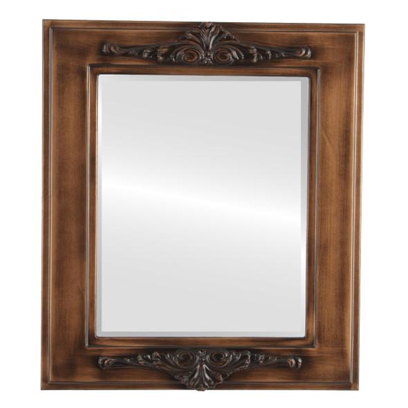 Beveled Mirror - Ramino Rectangle Frame - Sunset Gold