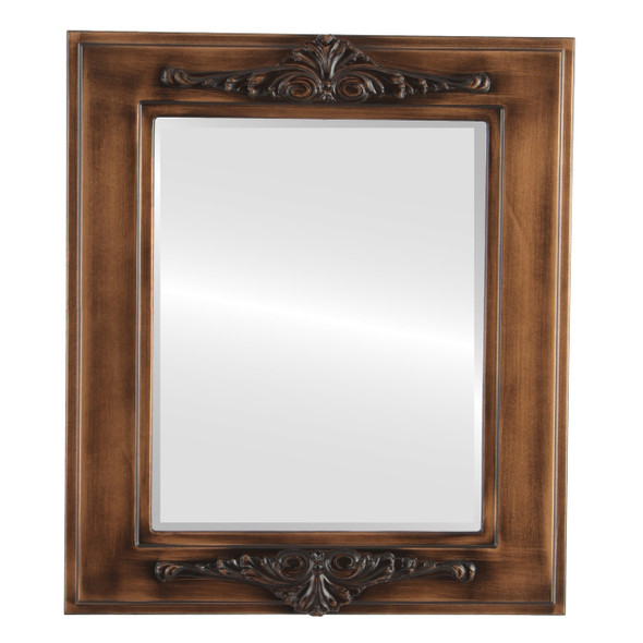 Beveled Mirror - Ramino Rectangle Frame - Sunset Gold