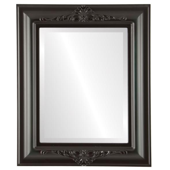 Beveled Mirror - Winchester Rectangle Frame - Hunter Green