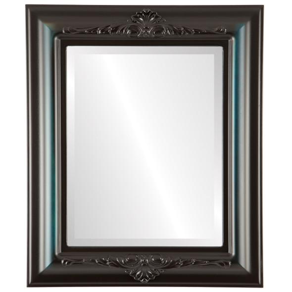 Beveled Mirror - Winchester Rectangle Frame - Royal Blue