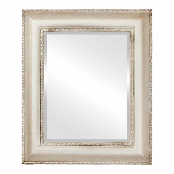 Beveled Mirror - Somerset Rectangle Frame - Taupe