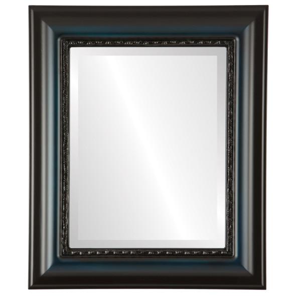 Beveled Mirror - Chicago Rectangle Frame - Royal Blue