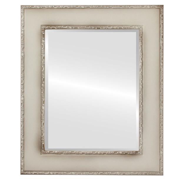 Beveled Mirror - Paris Rectangle Frame - Taupe