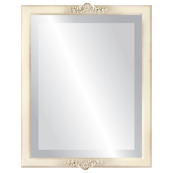 Beveled Mirror - Athena Rectangle Frame - Taupe