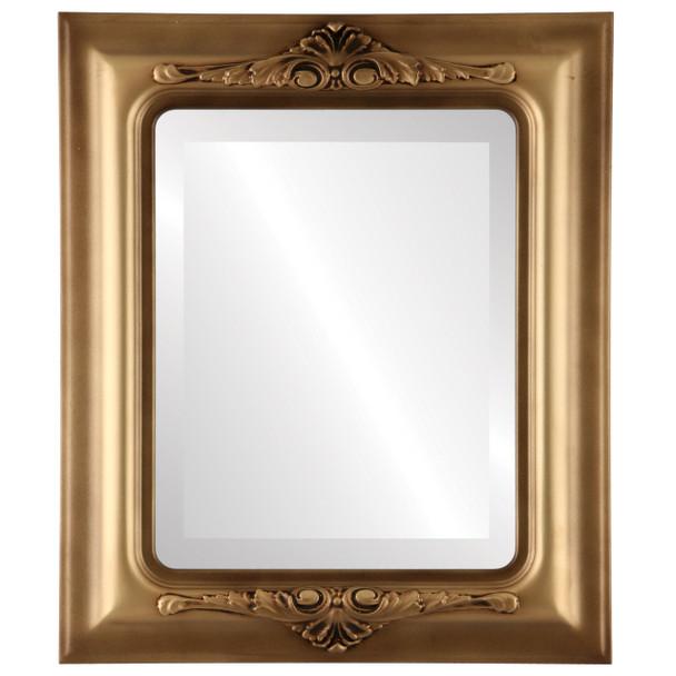 Beveled Mirror - Winchester Rectangle Frame - Desert Gold