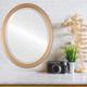 Lifestyle - Saratoga Oval Frame - Desert Gold