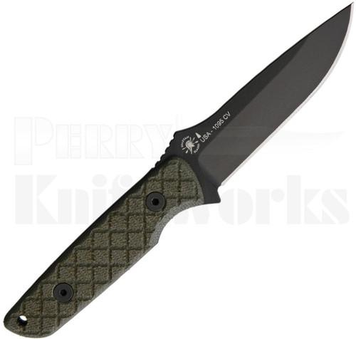 Spartan Blades Alala Fixed Blade Knife Green Micarta