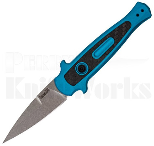 Kershaw Launch 12 Stiletto Automatic Knife Teal 7125