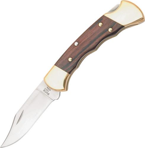Buck Folding Hunter-Fingergrooved Knife