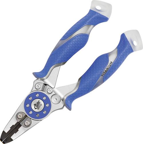 Camillus Cuda Tungsten Carbide Fishing Pliers  (Cuda Blue)