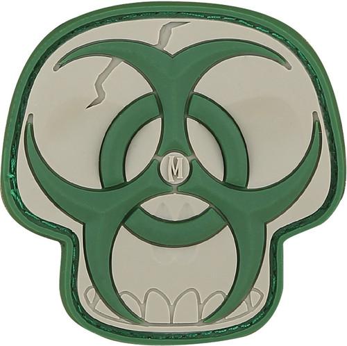 Maxpedition Arid Biohazard Skull Patch (Light & Dark Green)