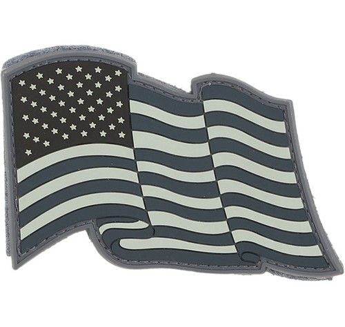 Maxpedition Star Spangled Banner Patch (Swat Black & Gray)