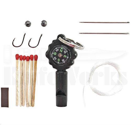 Schrade Survival Kit Whistle & Compass