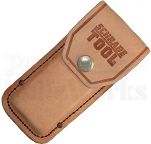Schrade Tough Tool ST1 Brown Leather Sheath