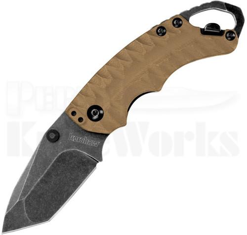 Kershaw Shuffle II Linerlock Knife Tan 8750TTANBW