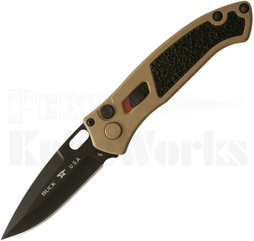 Buck Impact Automatic Knife Coyote Tan 0898BRS1 l For Sale