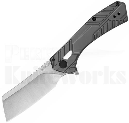 Kershaw Static Cleaver Frame Lock Knife Gray 3445