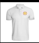Christ Church White Unisex Polo Shirt