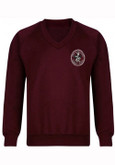 John of Rolleston V Neck Sweatshirt
