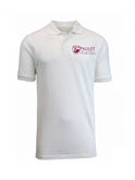 Paulet Unisex WHITE Polo Shirt with HOUSE NAME