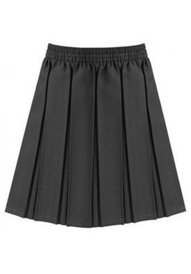 Girls Junior Box Pleat Skirt