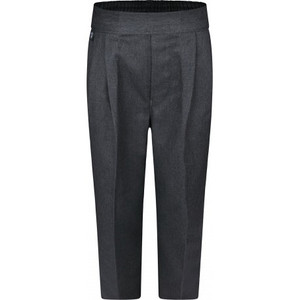 Boys Junior PULL ON Grey Trousers