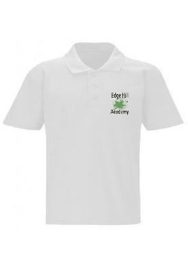 Edge Hill Academy White Unisex Polo Shirt