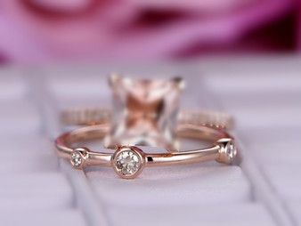 Reserved for GM,Band only! Diamond Bubble Wedding Band 14K Yellow Gold