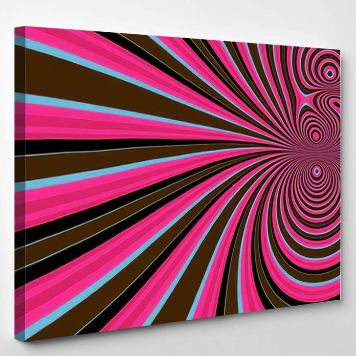 Abstract Interesting Psychedelic Background Wallpapers - Psychedelic Canvas Art Print