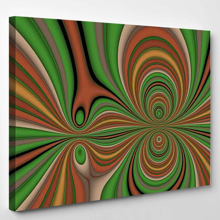 Abstract Interesting Psychedelic Background Wallpapers 1 - Psychedelic Canvas Art Print