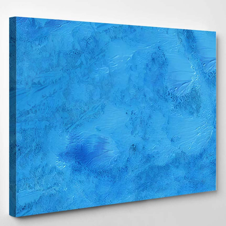 Abstract Background Colorful Texture Gouache Watercolor - Fantastic Canvas Art Print