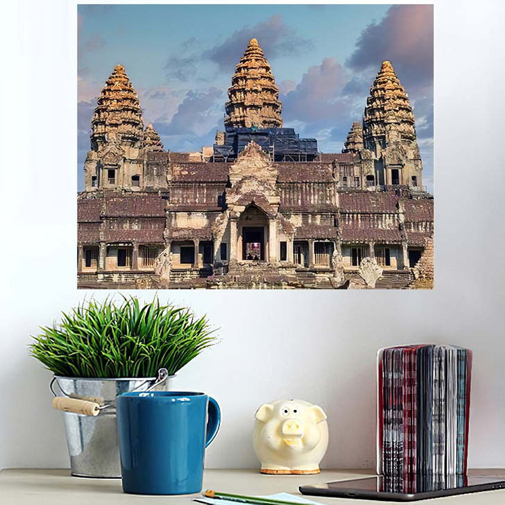 1022020 Thailand Cambodia View Popular Tourist - Landmarks and Monuments Poster Art