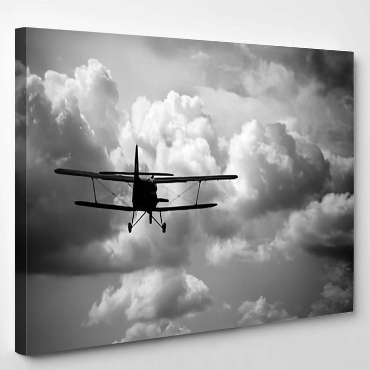 Takeoff Old Russian Plane - Airplane Airport Canvas Art Print