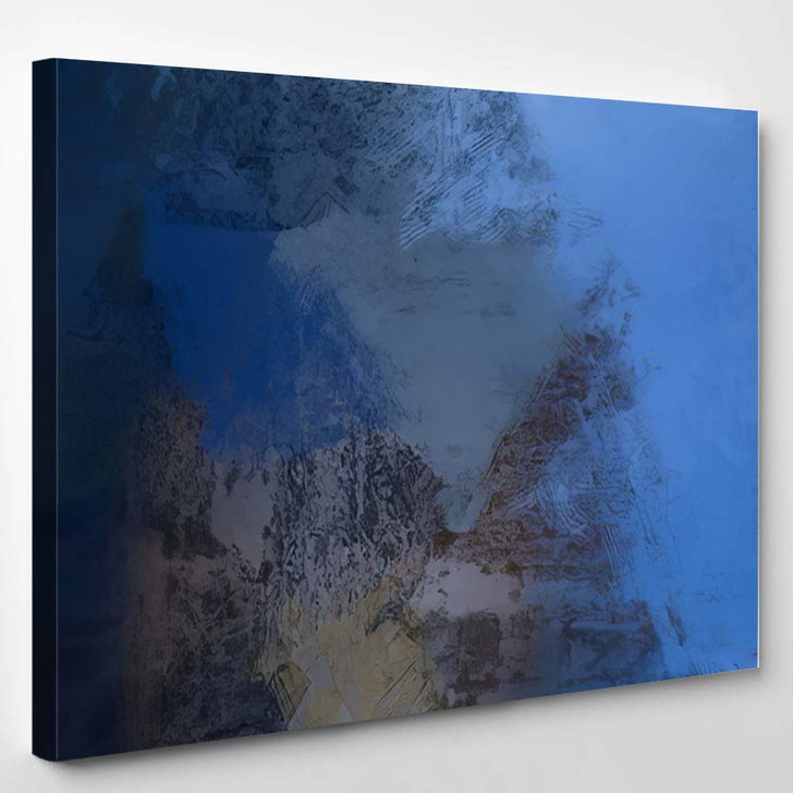 2D Illustration Artistic Background Image Abstract 1 1 - Abstract Art Canvas Art Print