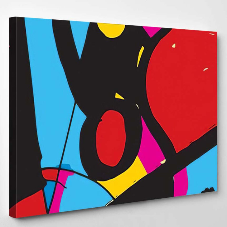 Abstract Art Background 10 - Abstract Art Canvas Art Print