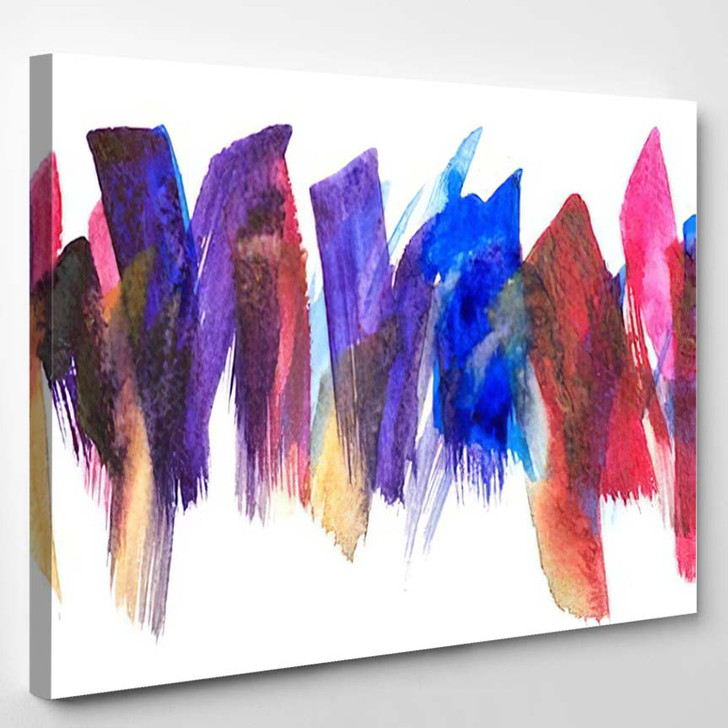 Abstract Art Background Handpainted Self Made 3 1 - Abstract Art Canvas Art Print