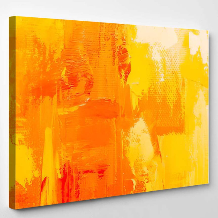 Abstract Art Background Oil Painting On 8 - Abstract Art Canvas Art Print