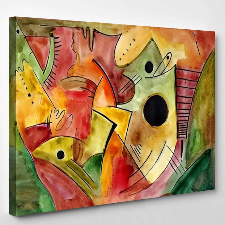 Abstract Art Design 12 - Abstract Art Canvas Art Print