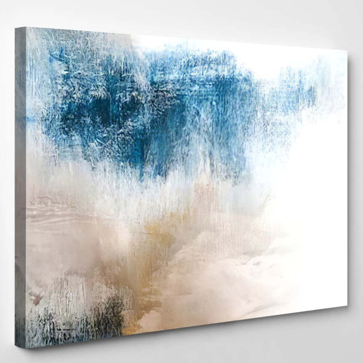 Abstract Art Painting Background Modern Artwork - Abstract Art Canvas Art Print
