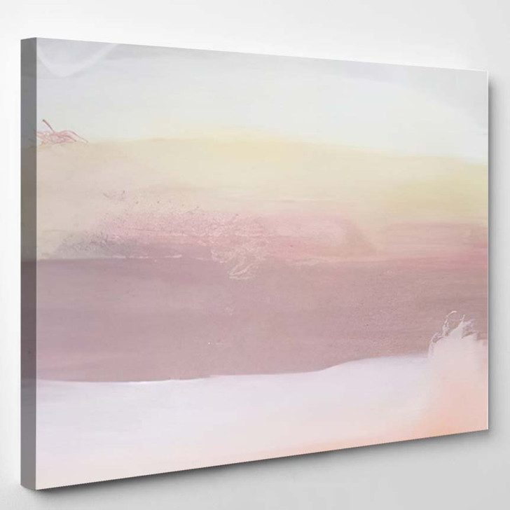 Abstract Art Painting Background Modern Contemporary 4 - Abstract Art Canvas Art Print