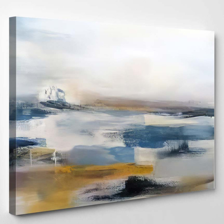 Abstract Art Painting Background Modern Contemporary 6 - Abstract Art Canvas Art Print