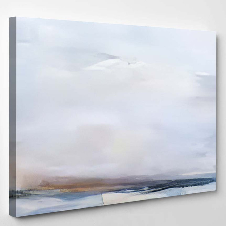 Abstract Art Painting Background Modern Contemporary 7 - Abstract Art Canvas Art Print