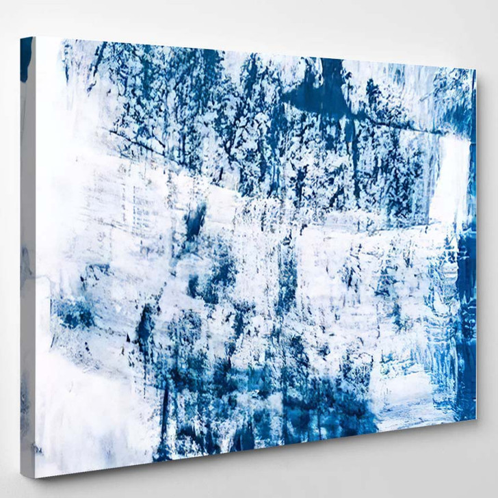 Abstract Art Painting Background Modern Contemporary 8 - Abstract Art Canvas Art Print