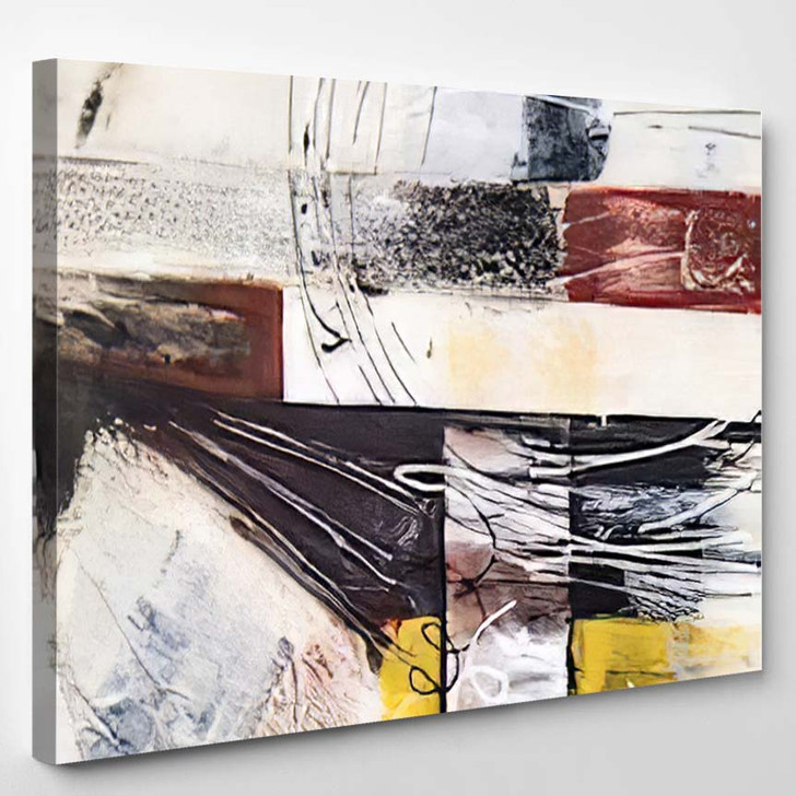 Abstract Background Painting 2 1 - Abstract Art Canvas Art Print