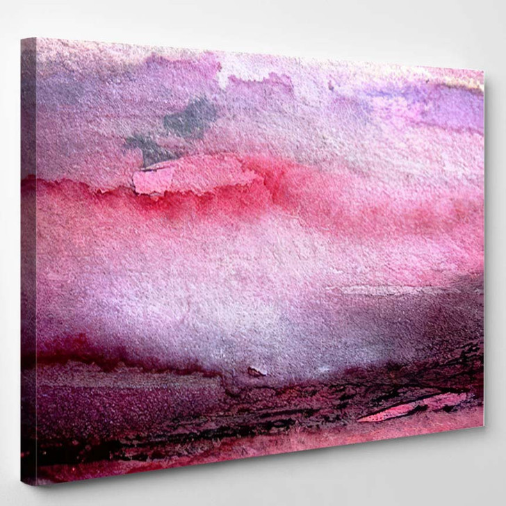 Abstract Background Painting 4 - Abstract Art Canvas Art Print