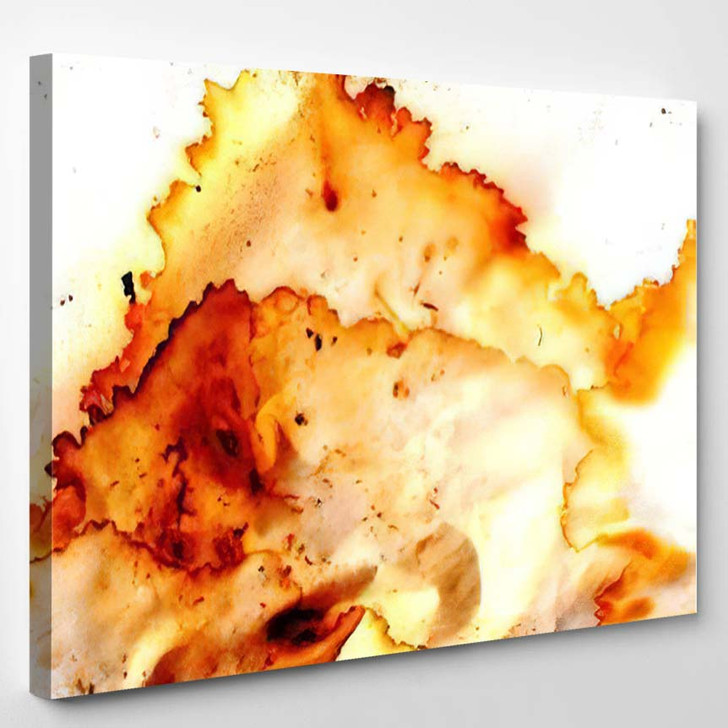 Abstract Background Stained Paper - Abstract Art Canvas Art Print