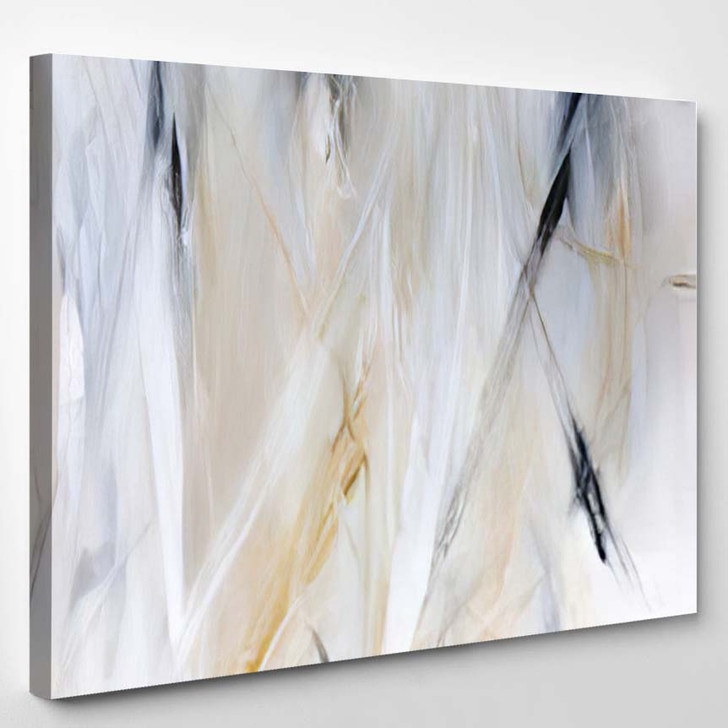 Abstract Painting Background On Canvas Art 1 - Abstract Art Canvas Art Print