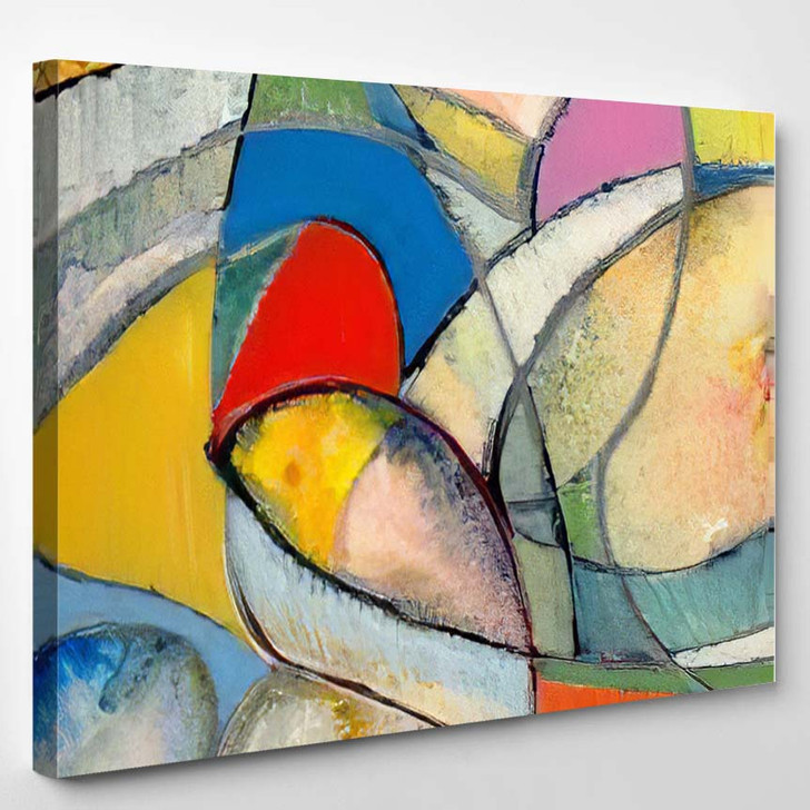 Abstract Painting 33 - Abstract Art Canvas Art Print